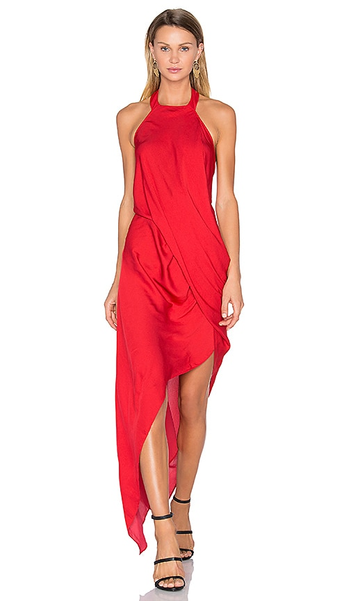 One Fell Swoop Poppy Dress in Red