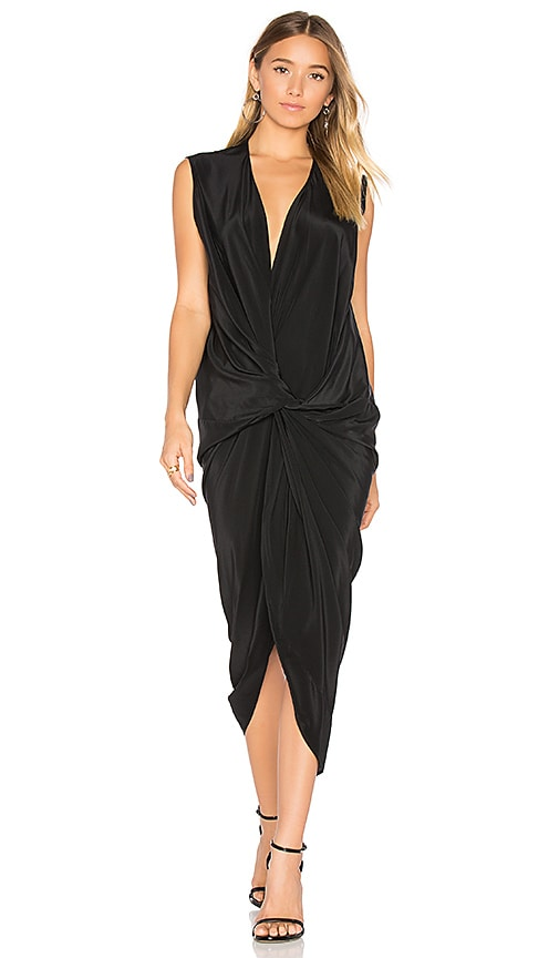 One Fell Swoop Elana Maxi Dress in Black