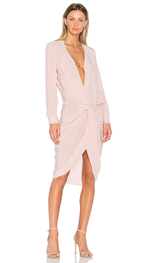 One Fell Swoop Elana Shirt Dress in Pink