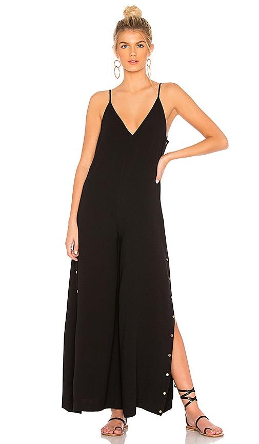 65c9686ab8cd One Teaspoon Rosaline Studded Jumpsuit in Black