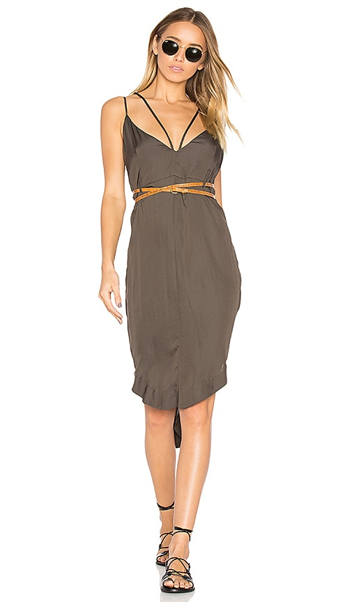 One Teaspoon The Le Freak Dress in Gray