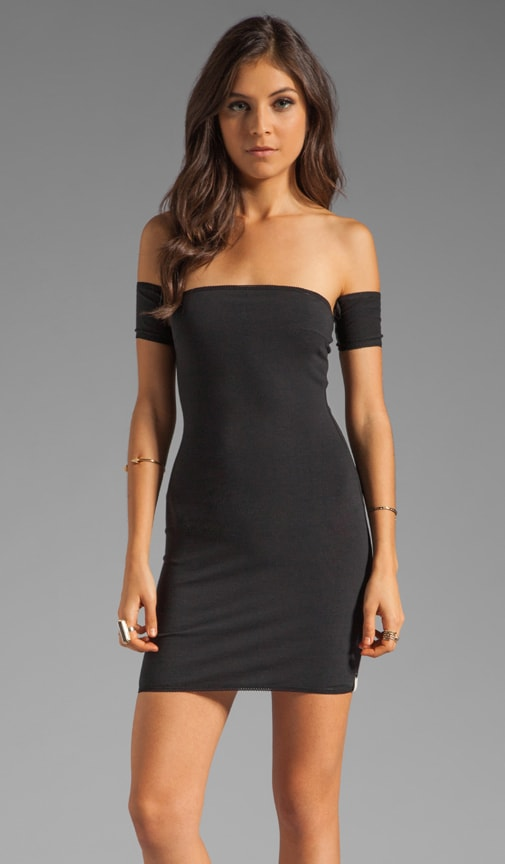 Holster Off Shoulder Body Con Dress