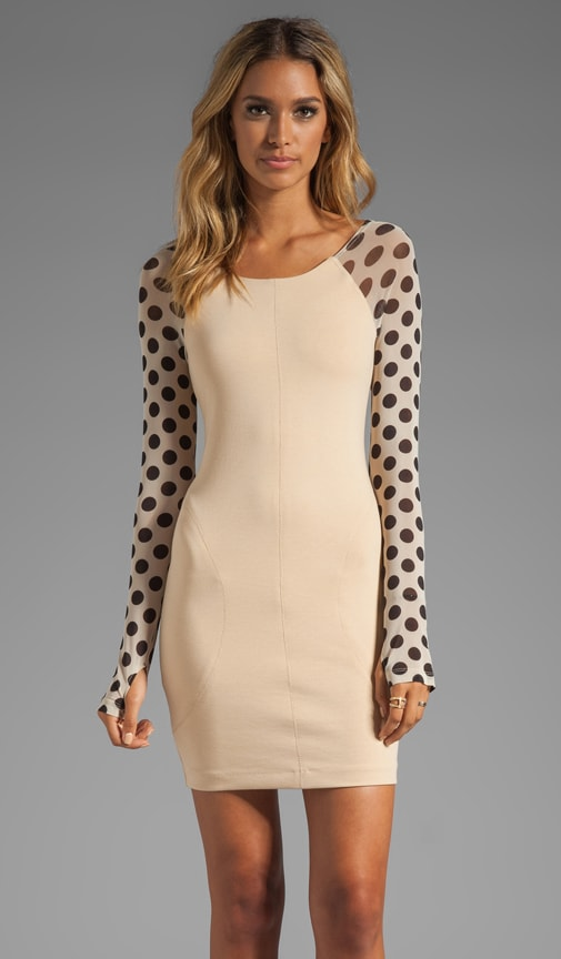 Rose of Heart Polka Dress
