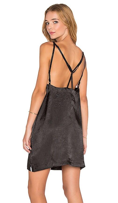 One Teaspoon Velvet Love Dress in Black