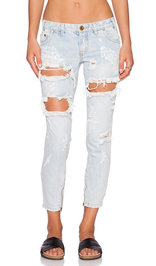 Womens Freebirds Skinny Jeans One Teaspoon Looking For Cheap Price Clearance Looking For Cheap Sale 2018 Unisex Free Shipping Best Prices Ebay For Sale Z9aLG