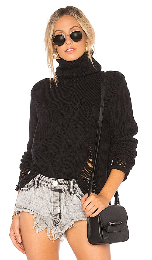 Old French Distressed Knit