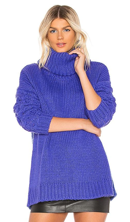 X REVOLVE Rider Roll Neck Sweater