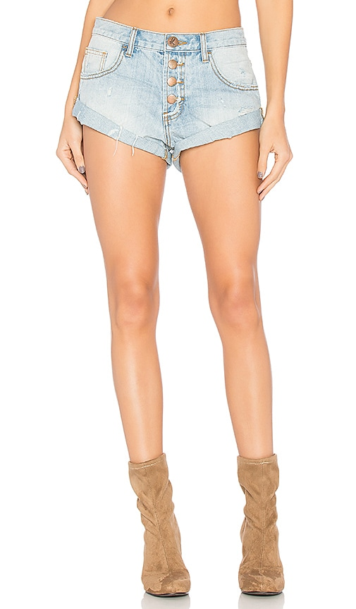 Bandits High Waist Short. - size 28 (also in 26,27,30) One Teaspoon