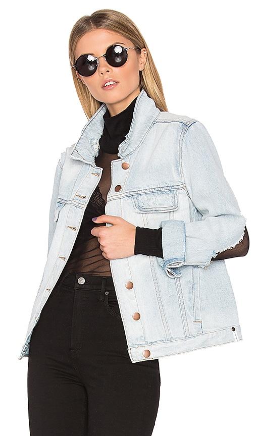 One Teaspoon Rock N Roller Jacket in Blue