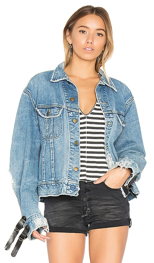 One Teaspoon The Vintage Denim Jacket in Middies