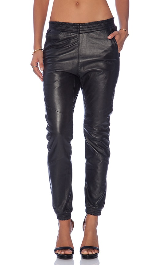 Leather Super Trackies