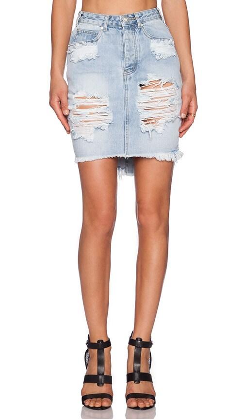 Wilde 2020 Denim Pencil Skirt