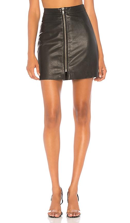 Vixen Leather Skirt