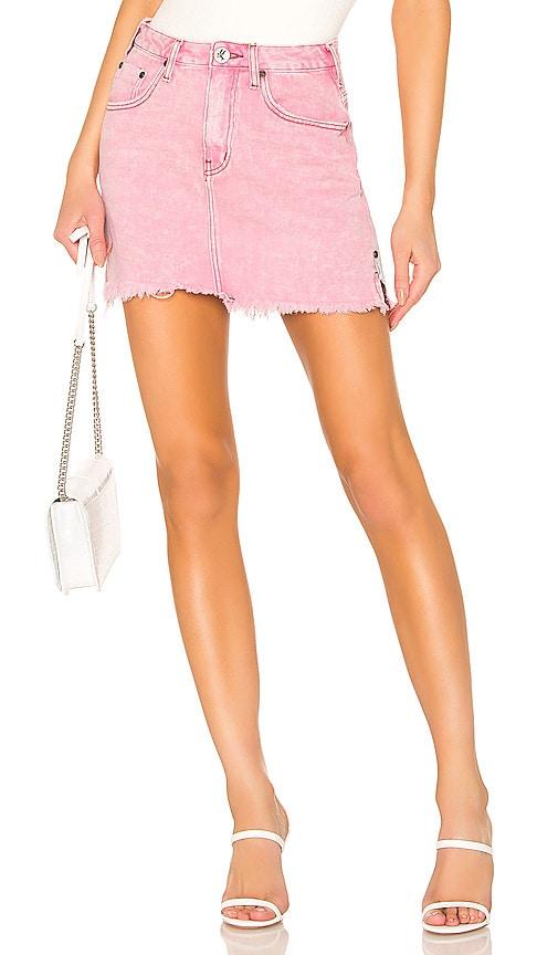 2020 High Waist Denim Skirt