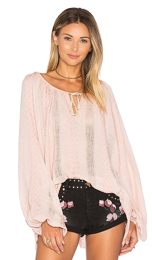 One Teaspoon Fortuna Valley Top in Pink