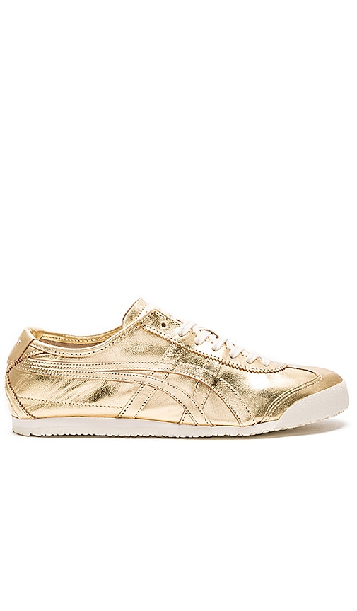 new styles 416f4 dcee7 Onitsuka Tiger Mexico 66 in Gold & Gold | REVOLVE