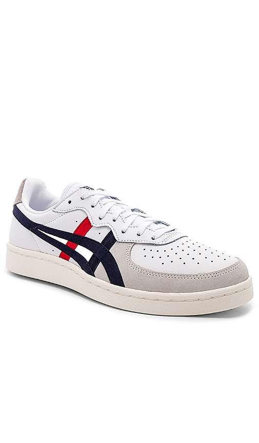 best website 53cca 3a43f Onitsuka Tiger GSM in White   Peacoat   REVOLVE