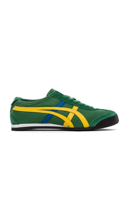 big sale c7aad d91cd Onitsuka Tiger Mexico 66 in Amazon Green & Yellow | REVOLVE