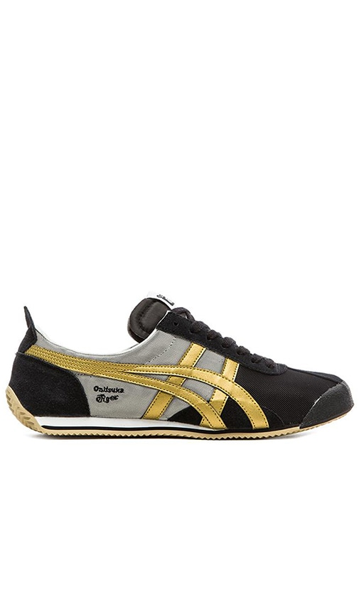 new arrival d473d 90688 Onitsuka Tiger Fencing in Black Gold | REVOLVE