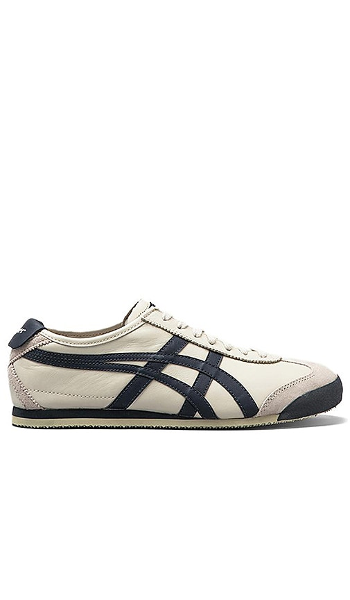 newest e2735 b51a5 Onitsuka Tiger Mexico 66 in Birch & Indian Ink & Latte | REVOLVE
