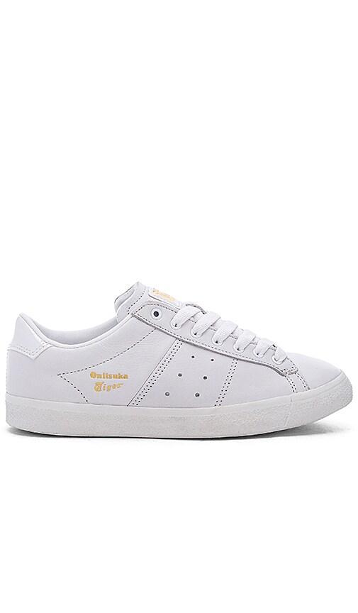 Onitsuka Tiger Lawnship Sneaker in White & White