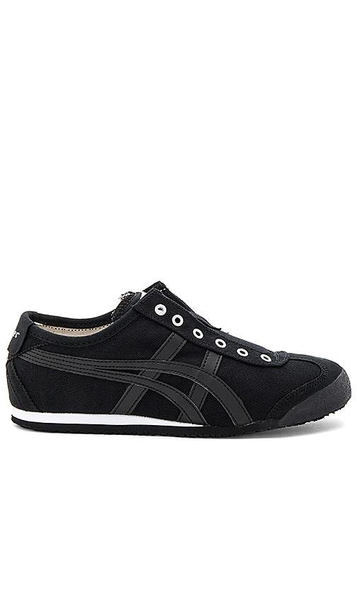 Onitsuka Tiger Mexico 66 Slip On Sneaker in Black
