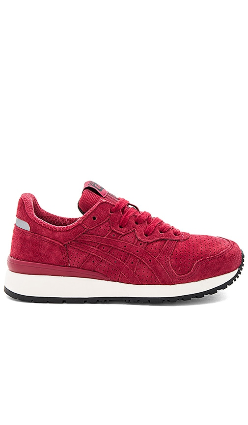 Onitsuka Tiger Tiger Alliance Sneaker in Burgundy