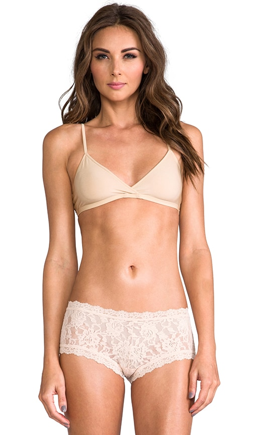 Only Hearts Second Skin Soft Cup Bra in Beige