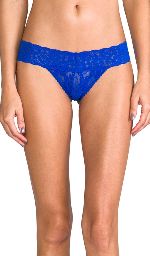 Stretch Lace Low Rise Thong