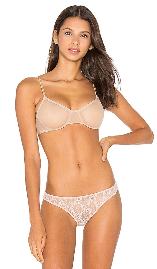 Only Hearts Whisper Underwire Bra in Beige