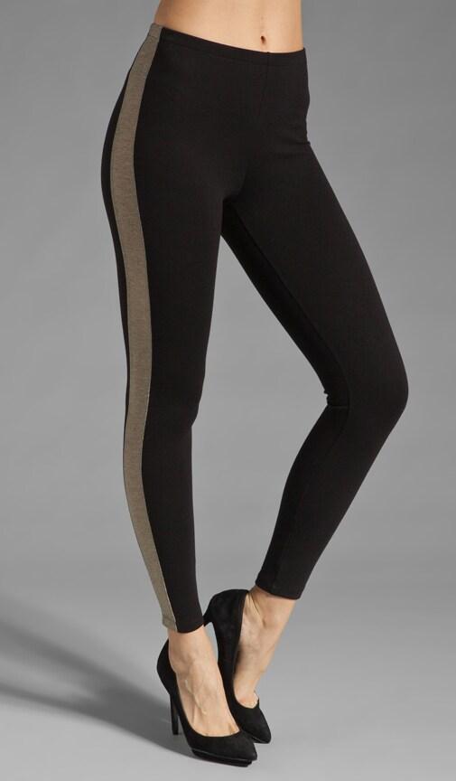 Metallic Tuxedo Legging