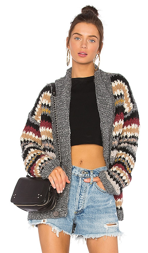 one on one Candid Cardigan in Brown