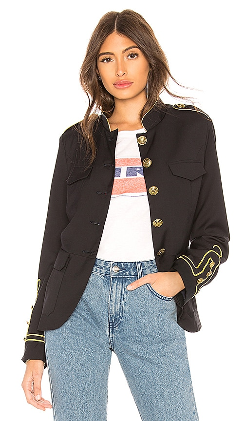 ON PARLE DE VOUS Garde Jacket in Navy