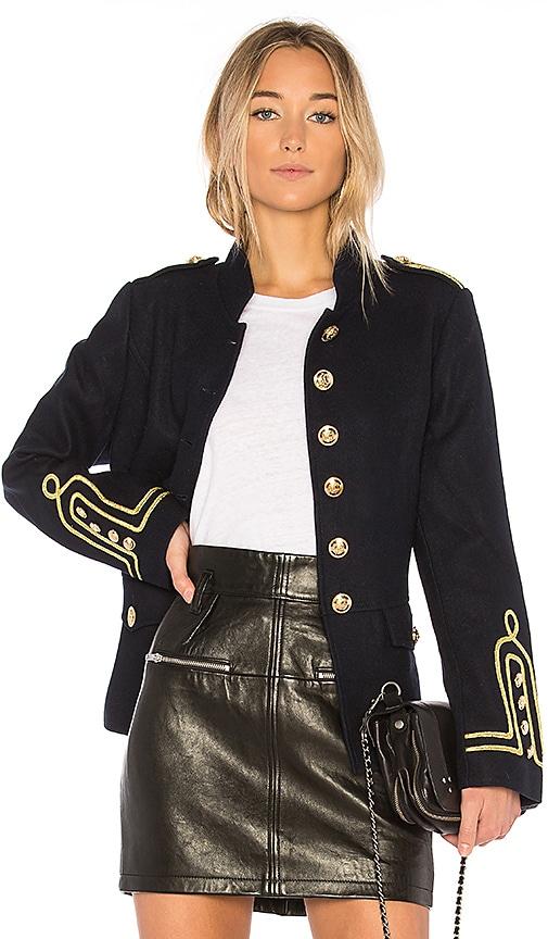 ON PARLE DE VOUS Fleche Jacket in Navy