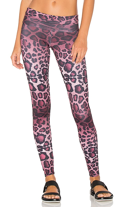 onzie High Rise Legging in Purple