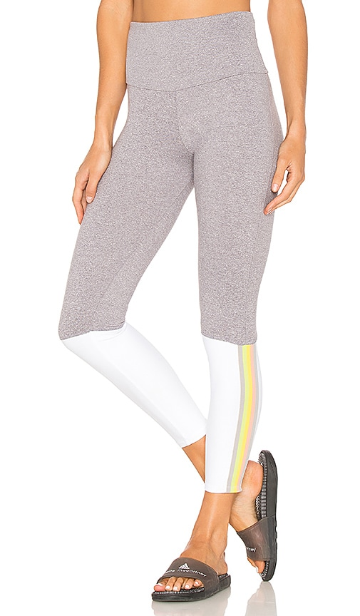 onzie Olympian Legging in Light Gray