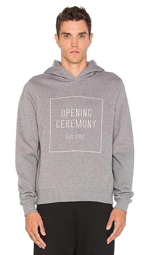 Opening Ceremony OC Logo Hoodie in Grey