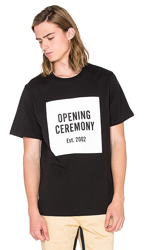 Opening Ceremony OC Logo T-Shirt in Black