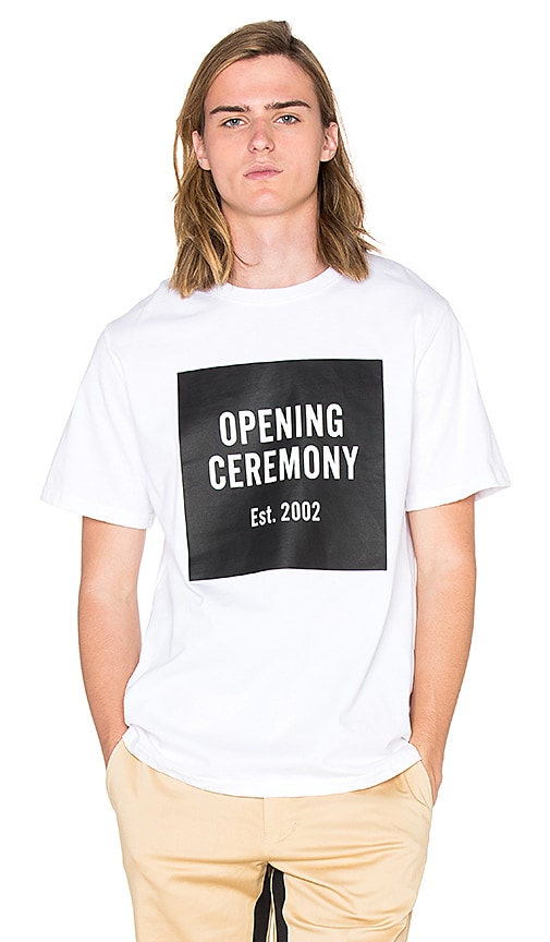 Opening Ceremony OC Logo T-Shirt in White