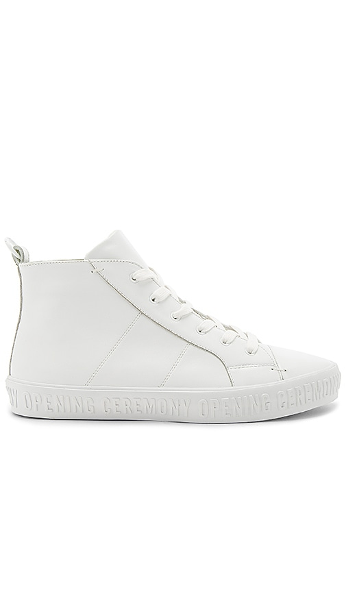 Opening Ceremony Ervicc Lace Up Sneakers in White