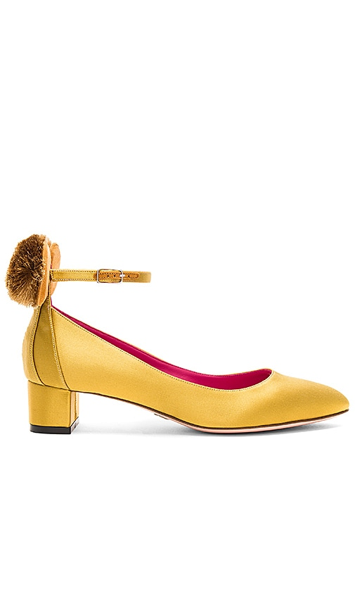 Oscar Tiye Mousey 40 Heel in Metallic Gold