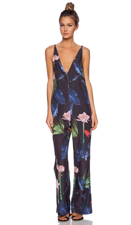 Emperor Floral Overall