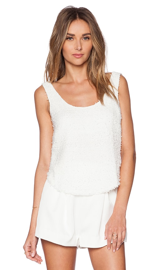 OSKLEN Rustic Tank Top in Off White
