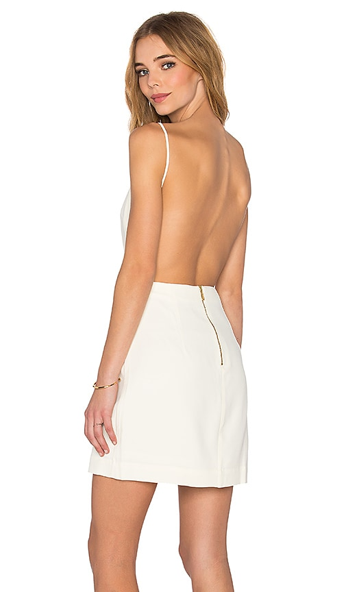 OSKLEN Square Tank Dress in White