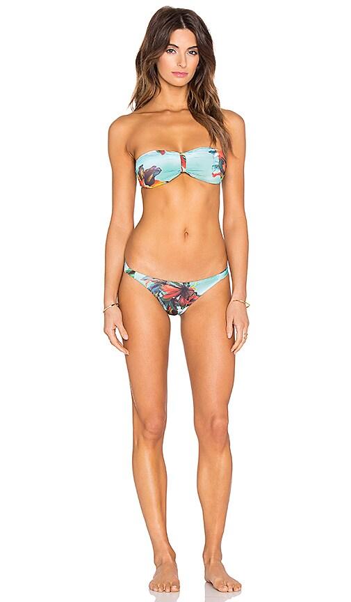 Floral Bandeau Bikini Set