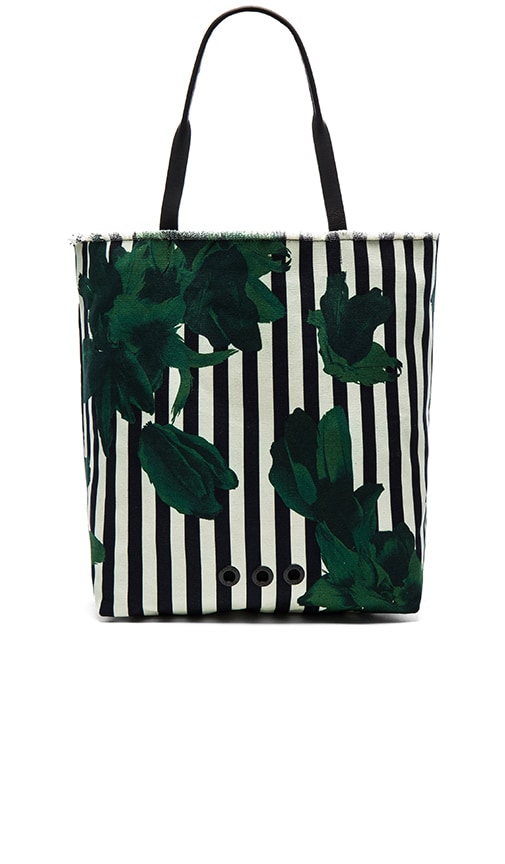 OSKLEN Canvas Tote Bag in Green