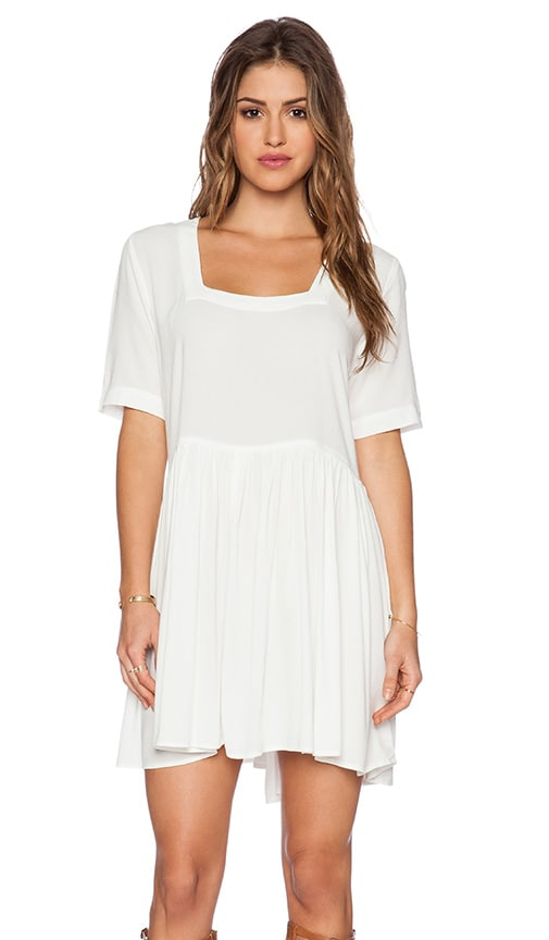 Otis & Maclain Genevieve Mini Dress in White