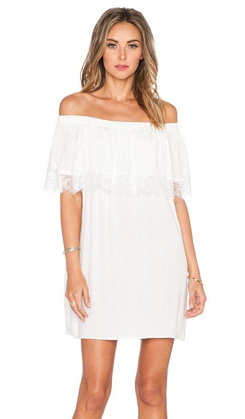 Otis & Maclain Senorita Lace Dress in White