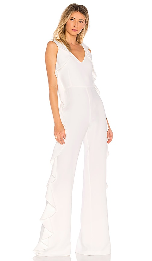 OUD Calamity Jumpsuit in White
