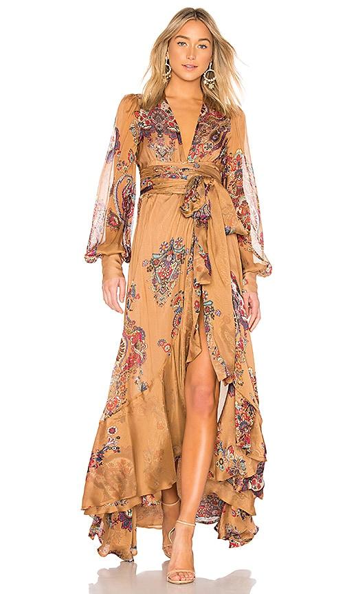 OUD Soho Dress in Tan